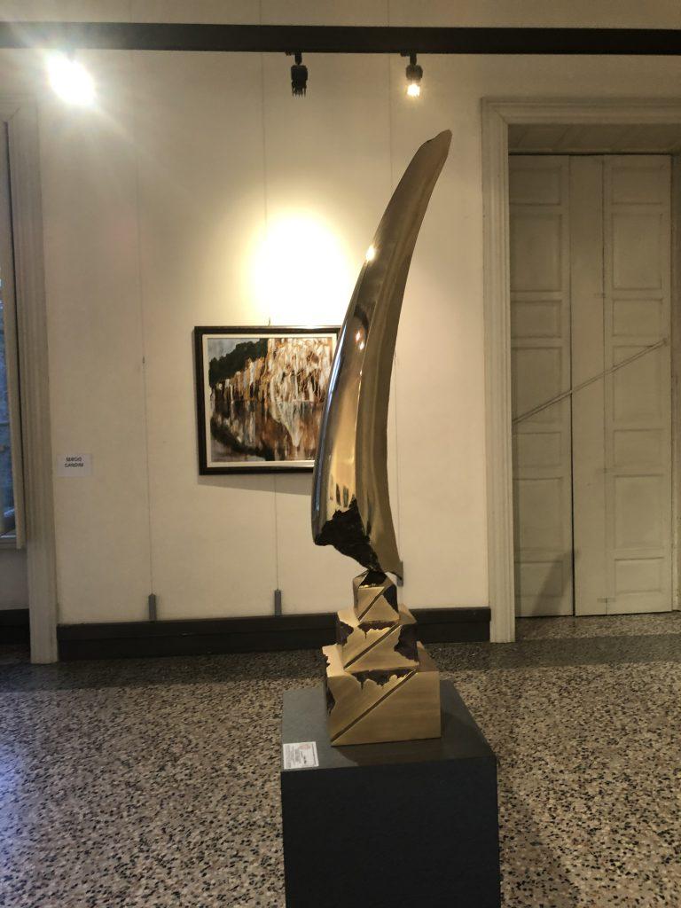 Arco del tempo, opera di Kyoji Nagatani