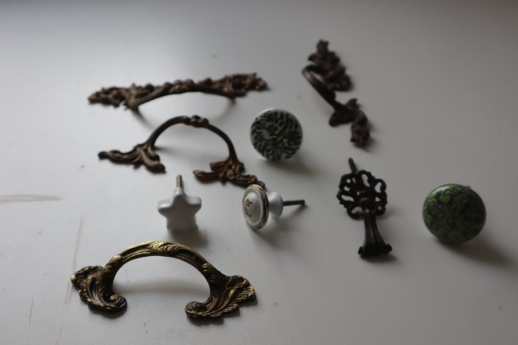 tipologie di maniglie diverse